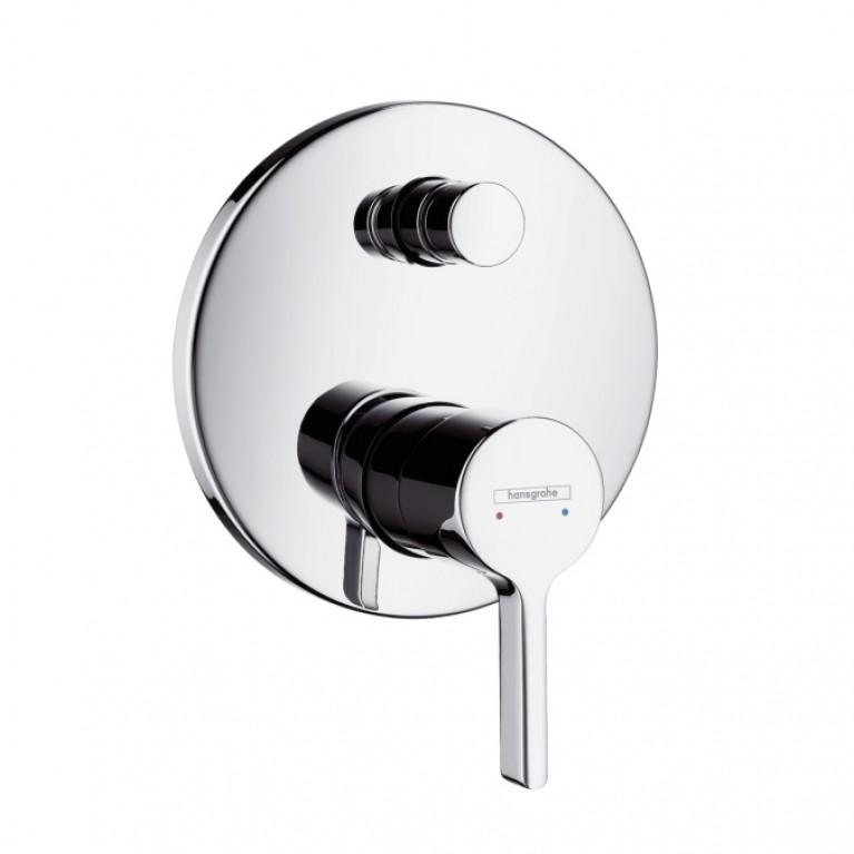 Metris S Смеситель для ванны, однорычажный, скрытый монтаж, хром, фото 1