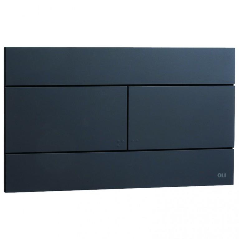 Slim Панель, black - чёрная soft touch