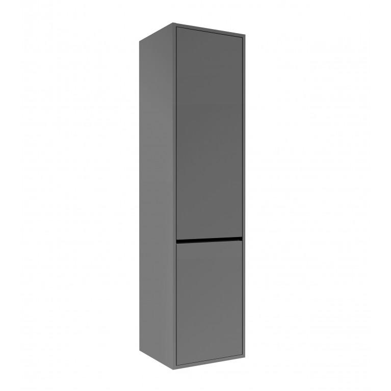 Пенал TEO 139*35*35см, подвесной, серый