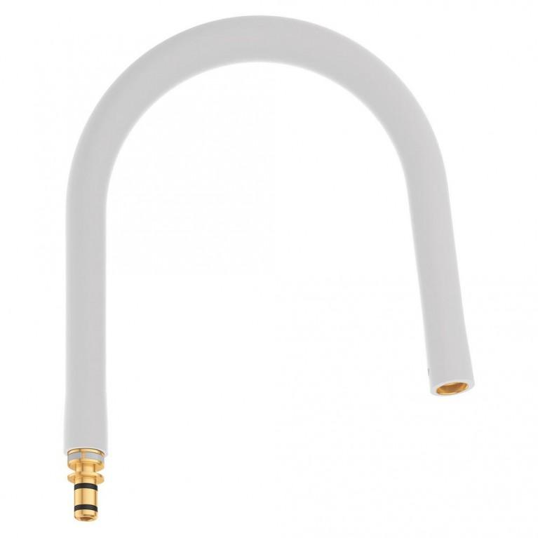 GROHFlexx Шланг гибкий с пружиной для смесителя на мойку, цвет хром/жемчужный, фото 1