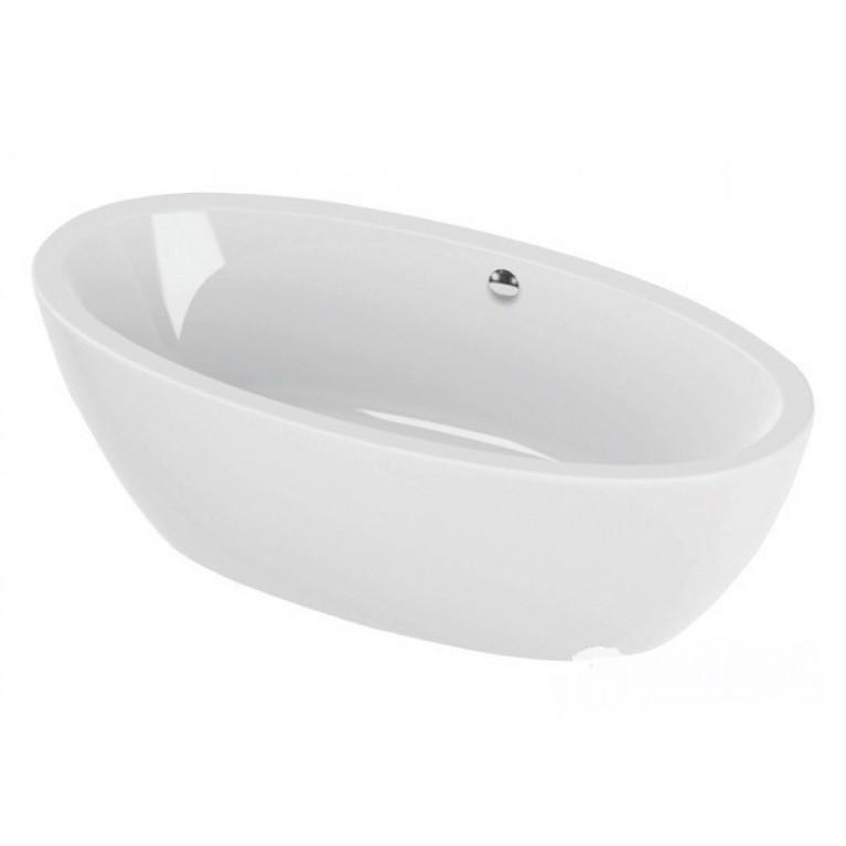 """VANITY ванна  190 X 95 со сливом-переливом """"klick"""" (хром)"""