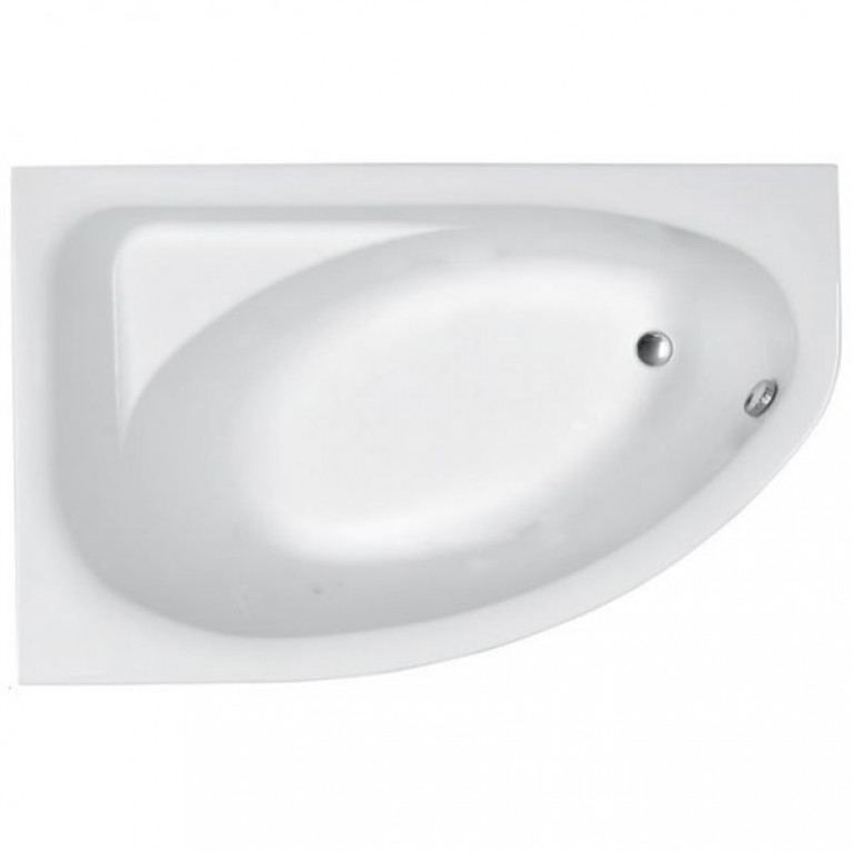 PROMISE ванна 170*100см левая без панели ( гидром. система эконом)