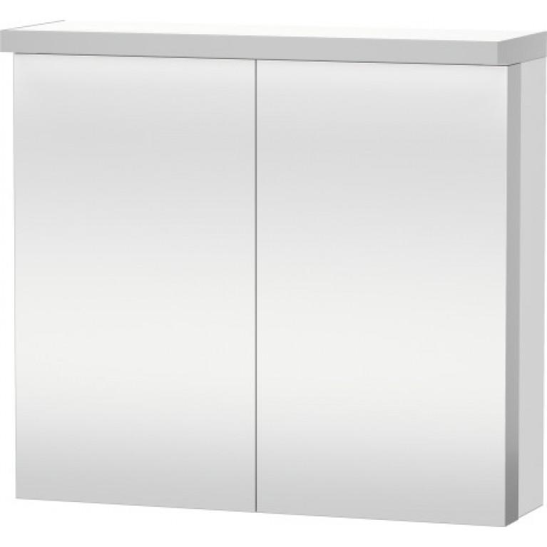 FOGO зеркальный шкафчик 80*74см, цвет белый мат, фото 1