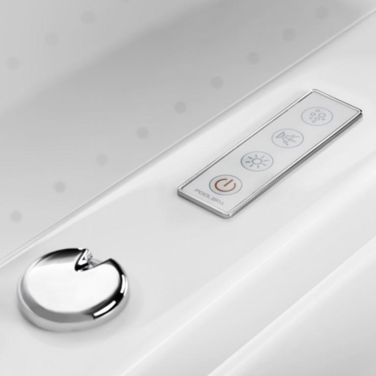 FANTASY ванна 185*115см, с системой аэро и гидромассажа Economy 2 PHP1H10SO2C0000, фото 2
