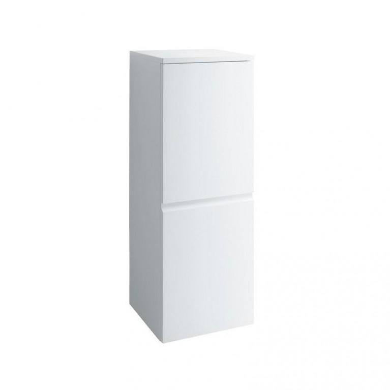 PRO S тумба 350*335*1000мм, средняя, подвесная, дверные петли слева, цвет белый глянец