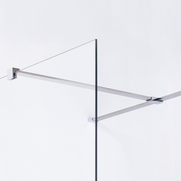 Держатель стекла (F) с креплениями длиной 900мм