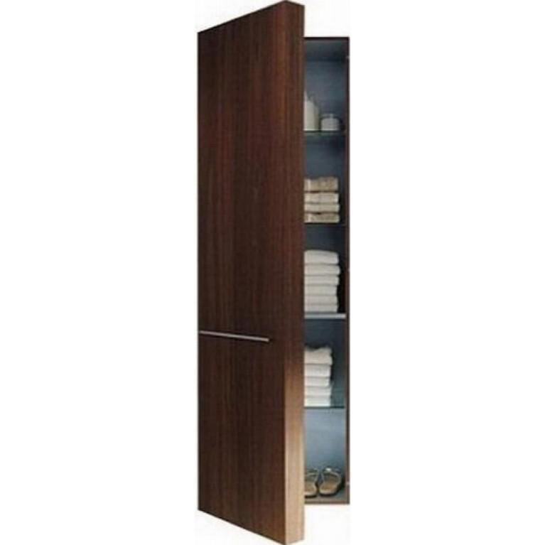 FOGO высокий шкаф 176*50см, правый, цвет американский орех, фото 1