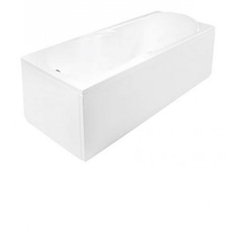 MUZA ванна  160 X 75 + рама, белая