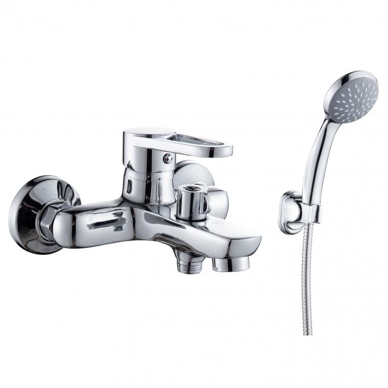 KINK смеситель для ванны однорычажный, хром 35 мм
