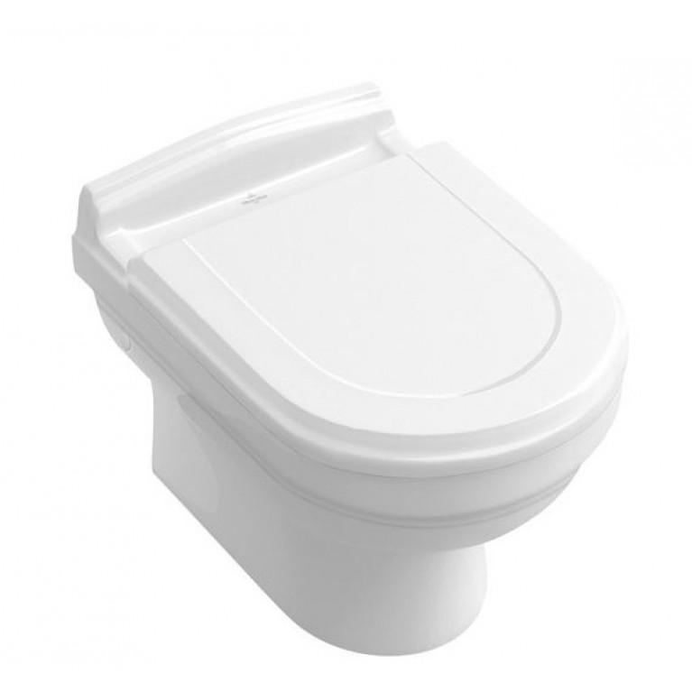Купить HOMMAGE унитаз 37*60см подвесной, цвет белый С+ у официального дилера VILLEROY & BOCH в Украине