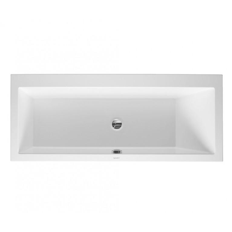VERO ванна 1700*700мм, прямоугольная, с наклоном для спины справа