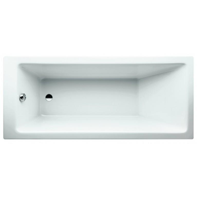 PRO ванна 1700*750*600мм, с левой L-пaнeлью, для установки в правом углу, с алюмин.рамой, фото 1