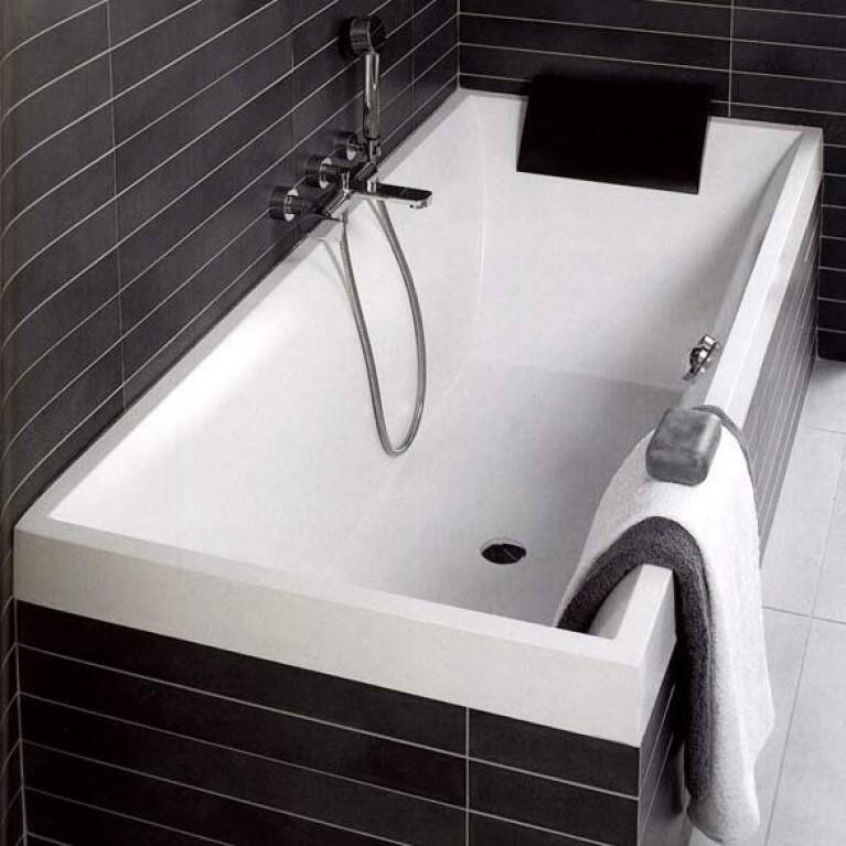 SQUARO ванна 180*80см в комплекте с ножками UBQ180SQR2V-01, фото 2