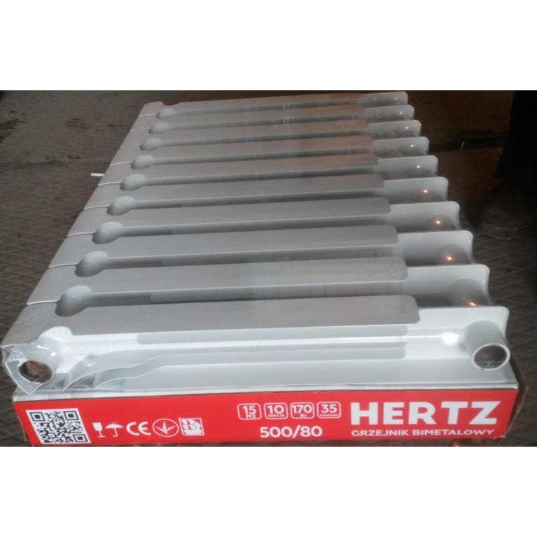 Биметаллический радиатор HERTZ 500/80 HERTZ 50080, фото 3