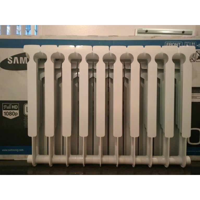 Биметаллический радиатор ZOOM 500/100 ZOOM 500100, фото 5