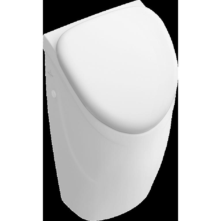Уринал Villeroy&Boch О.Novo с отверстием для крепежа крышки белый альпин