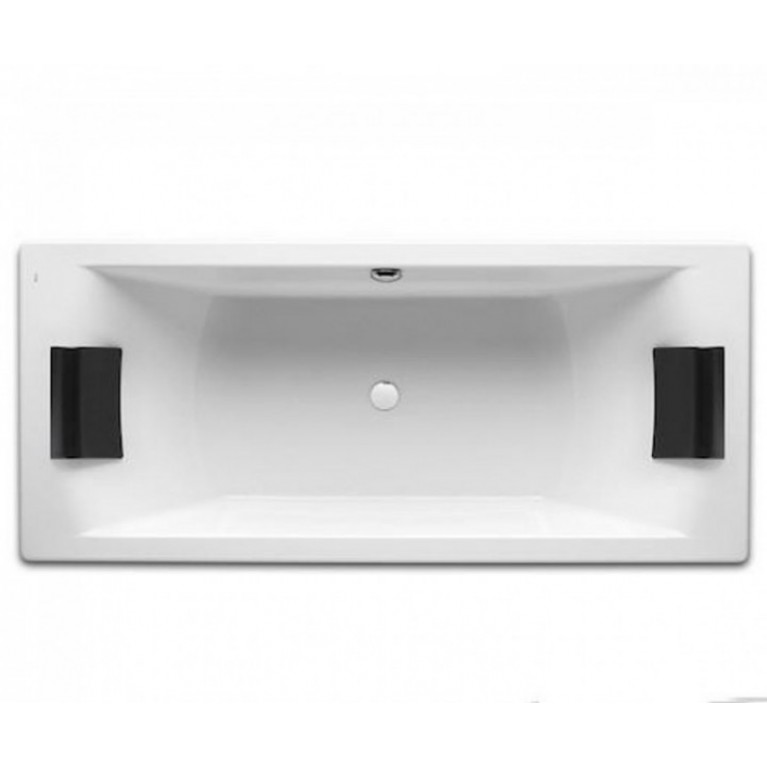 HALL ванна 180*80см прямоугольная, для двоих, с ножками, с 2-мя подголовниками, фото 1