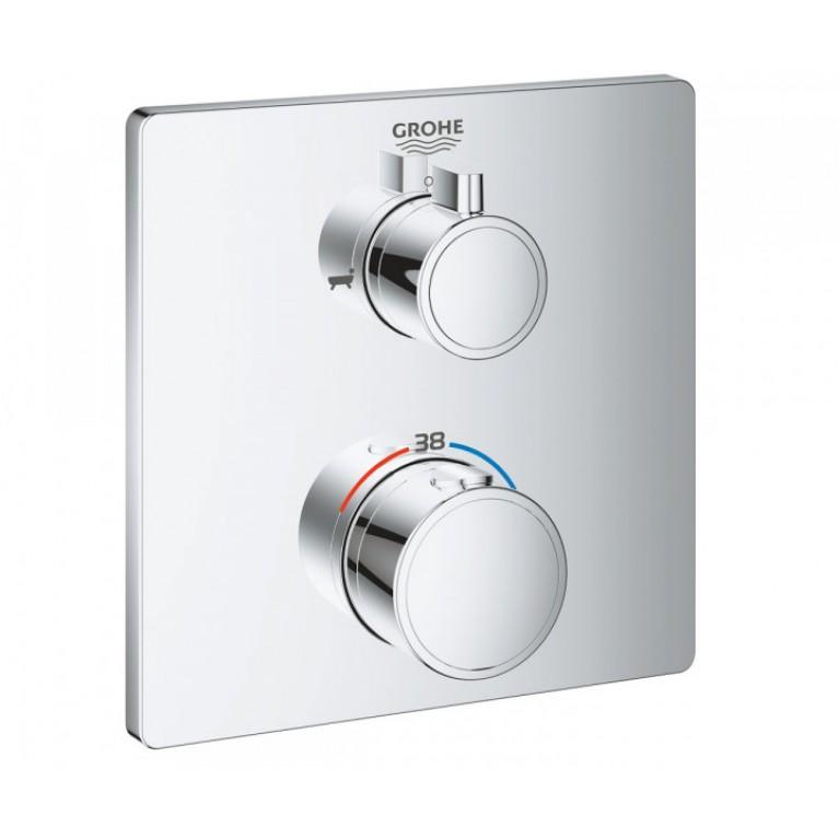 Grohtherm Термостат для душа с переключателем на 2 положения ванна/ душ