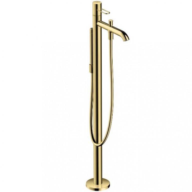 Axor Citterio E Термостат для ванны, напольный, шлифованное золото
