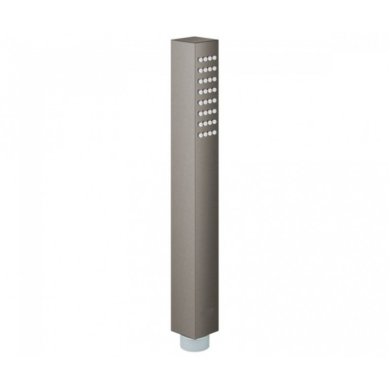 EUPHORIA CUBE+ ручной душ, металлический, 9,5 л/мин. темный графит матовый
