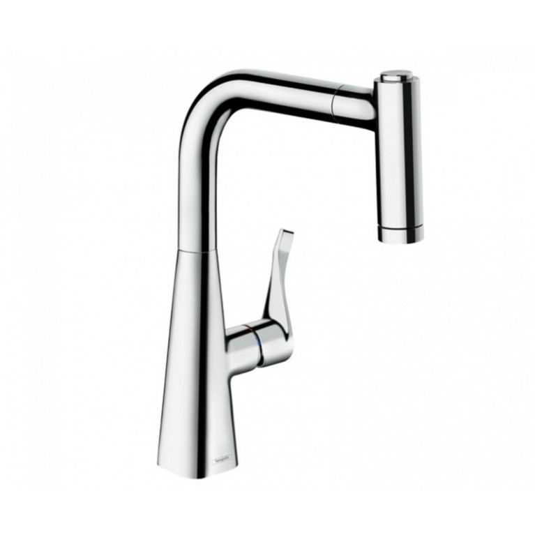 METRIS M71cmeсителья для кухни, однорычажный, с вытяжным душем, 2jet, sBox