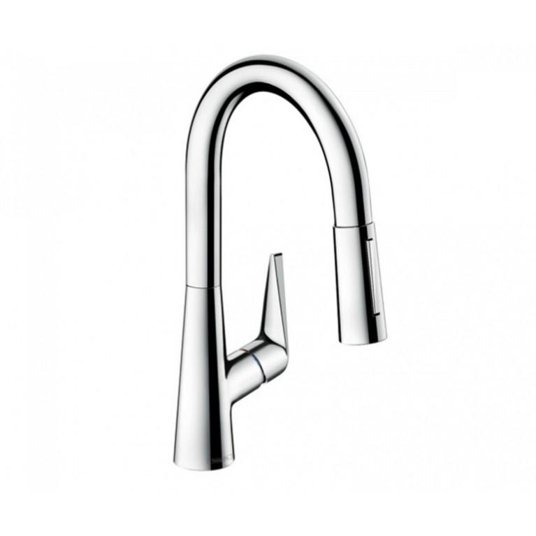 TALIS M51 смеситель для кухни, однорычажный, 160, с вытяжным душем, 2jet, sBox, фото 1
