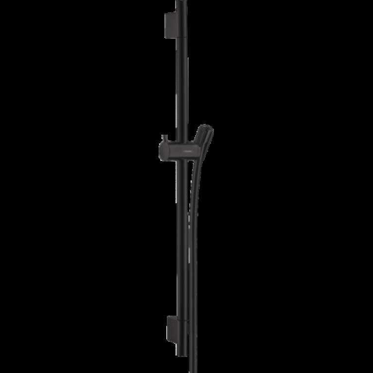Unica Душевая штанга S Puro 65см, со шлангом, цвет покрытия матовый черный