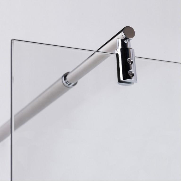 Держатель стекла к стене регулируемый 750-1200мм