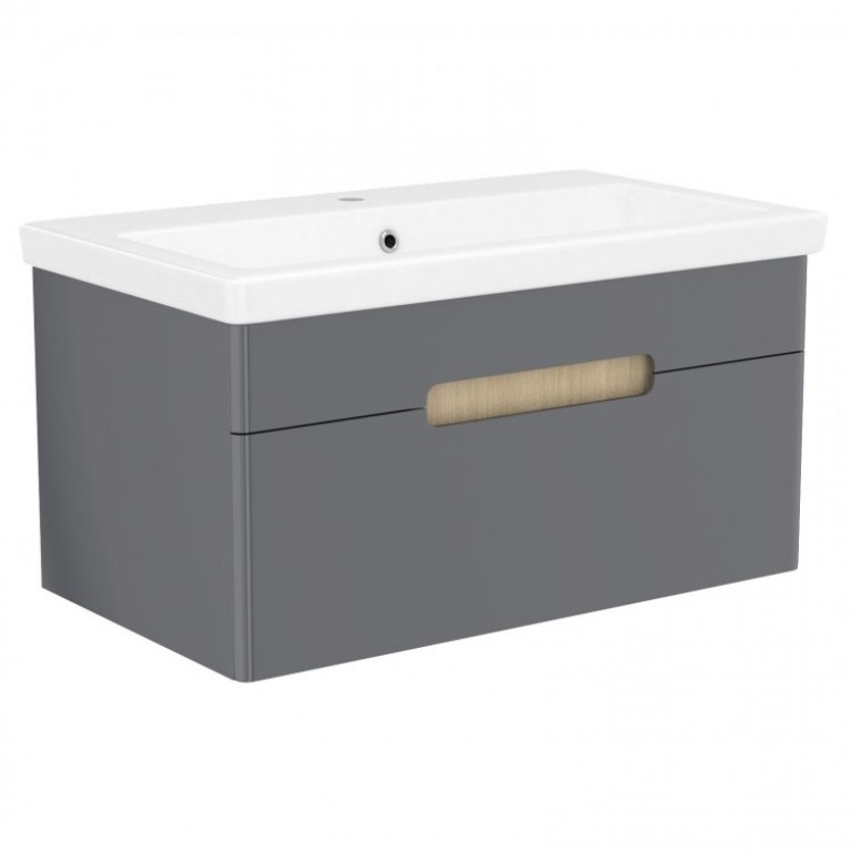 Комплект мебели PUERTA 80см серый