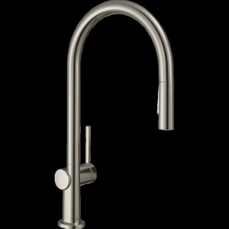 Смеситель для кухни Hansgrohe TALIS M54  210, однорычажный, с вытяжным душем, фото 1