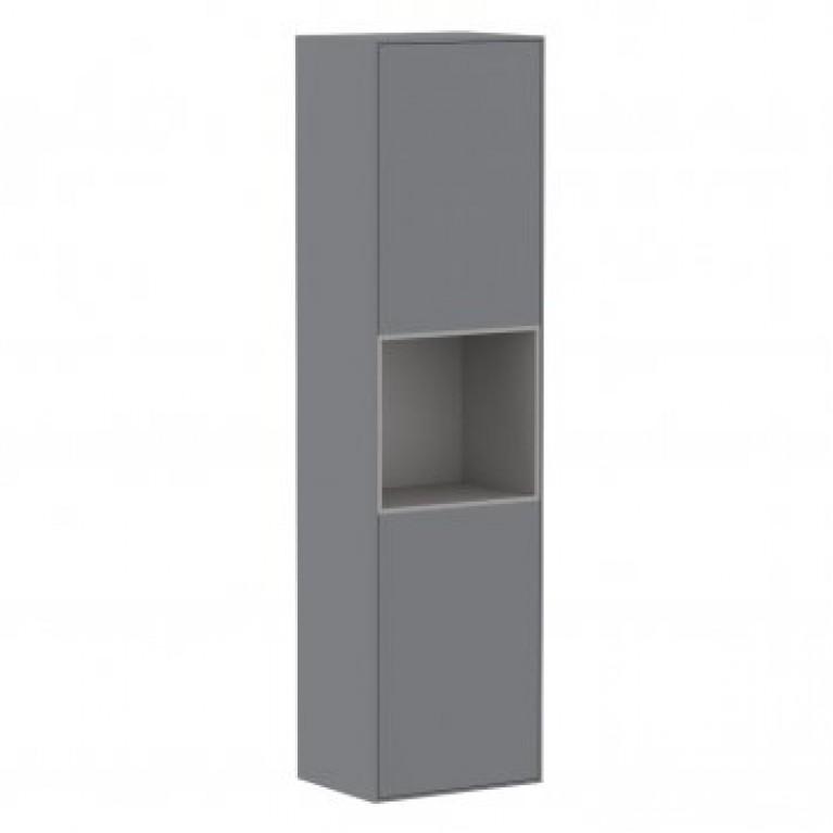 Пенал 150*40*35см, подвесной, серый