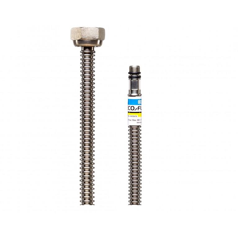 Шланг для подключения смесителя ECO-FLEX DN08 микс М10х1/2 В 80 см