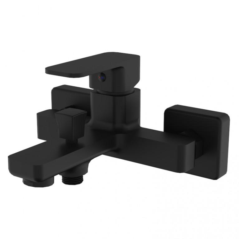 Смеситель для ванны BILOVEC, черный мат, 35 мм