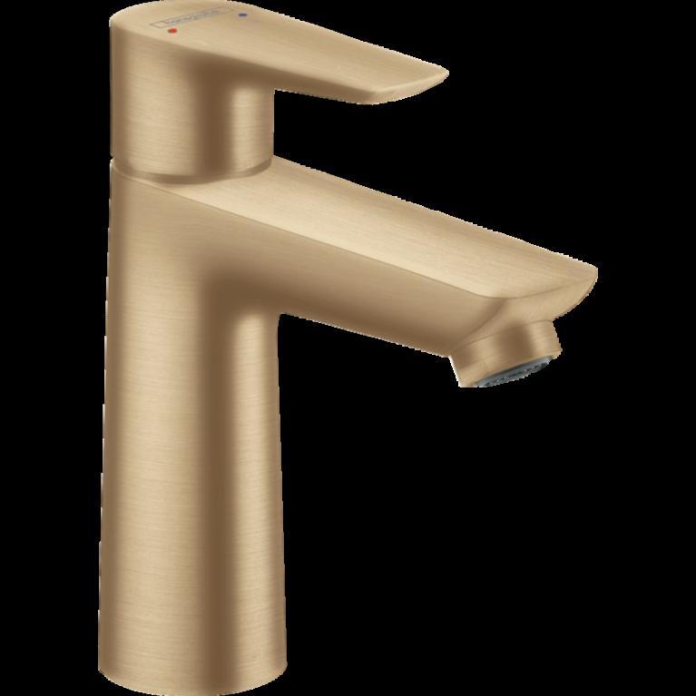 Смеситель для умывальника Hansgrohe Talis E 110 с донным клапаном pop-up, Brushed Bronze, фото 1