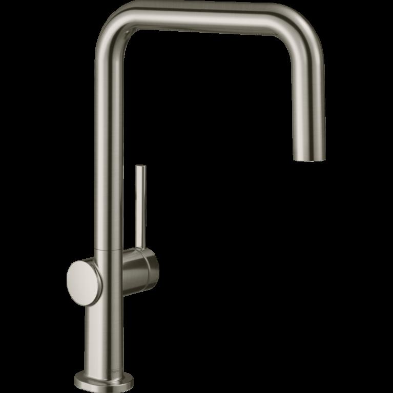 Смеситель для кухни Hansgrohe TALIS M54 220 , однорычажный, 1jеt, цвет покрытия сталь