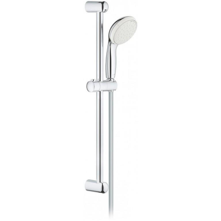 Ручной душ со штангой GROHE NEW TEMPESTA 100, 2 режима струи, хром, фото 1