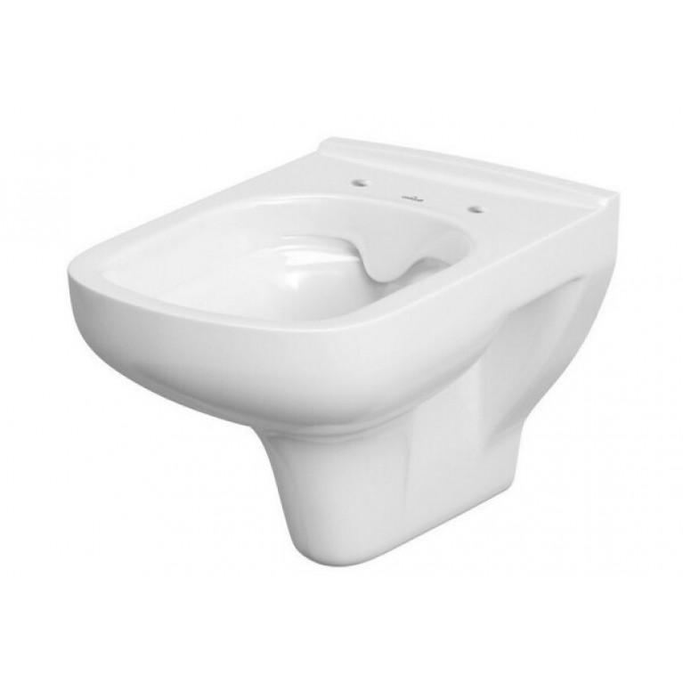 Унитаз напольный Cersanit COLOUR CLEAN ON, с сиденьем дюропласт с системой плавного опускания