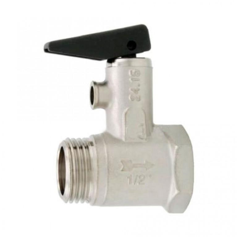 Купить Предохранительный клапан для бойлеров с ручкой 1/2 Itap у официального дилера Itap в Украине