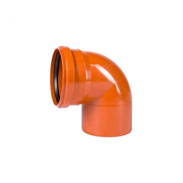 Купить Отвод для наружной канализации Ostendorf KG Ду 200/67 у официального дилера Ostendorf в Украине