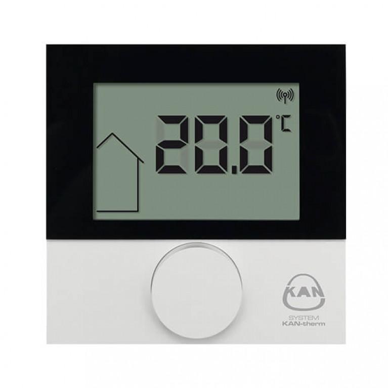 Купить Tepmocтaт KAN с ЖК- дисплеем с датчиком температуры пола у официального дилера Kan в Украине