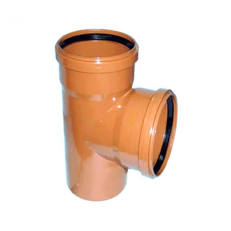 Купить Тройник для наружной канализации Ostendorf KG 200/200x87 у официального дилера Ostendorf в Украине