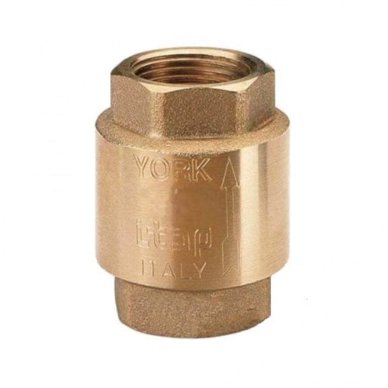 Купить Обратный клапан пружинный (пластиковый шток) YORK Itap 1 1/4 у официального дилера Itap в Украине