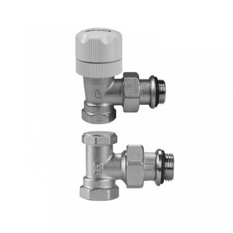 Комплект термостатический Honeywell VL134EA15, ручной угловой 1/2