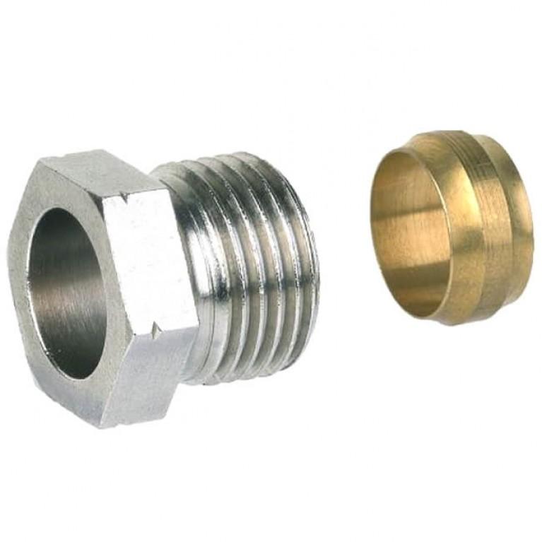 Купить Фитинг компрессионный для арматуры Honeywell FIG1/2CS15, 15 мм, 1 шт. у официального дилера Honeywell в Украине