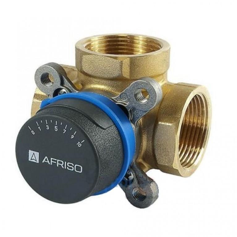 """Afriso ARV386 Rp 1 1/2"""" DN40 kvs 26 4 трехходовой смесительный клапан"""