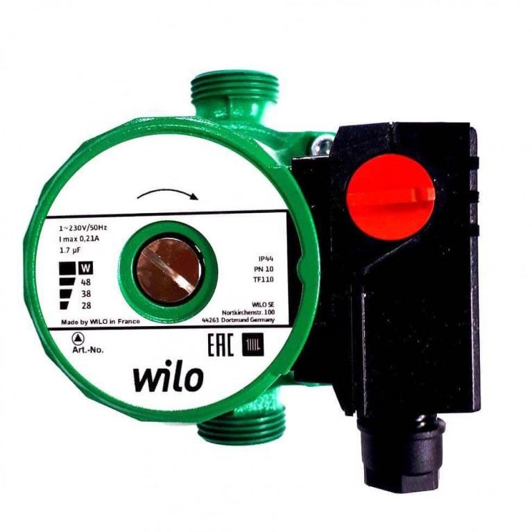 Купить Циркуляционный насос Wilo Star-RS 15/2 130 у официального дилера Wilo в Украине