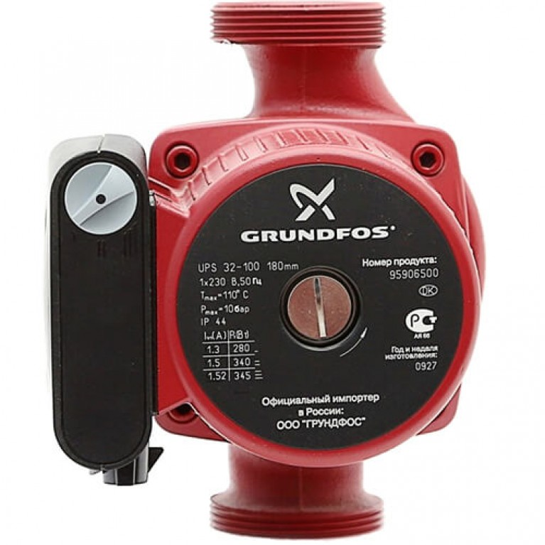 Купить Циркуляционный насос Grundfos UPSD 32-80 180 у официального дилера Grundfos в Украине