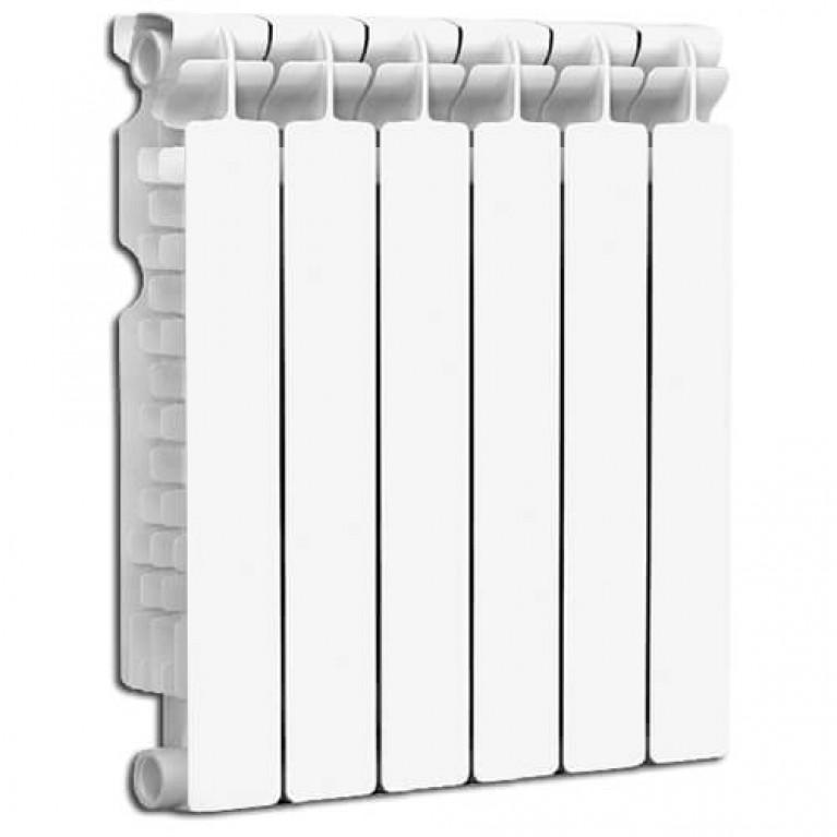 Купить Биметаллический радиатор Fondital Alustal 500/100 (6-секций) у официального дилера Fondital в Украине