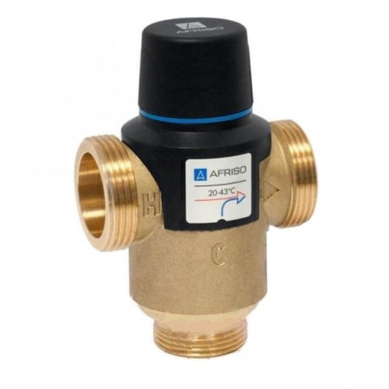 Купить Термостатический смесительный клапан ATM881 Afriso G 1 1/4 DN25 20-43 kvs 4.2 у официального дилера Afriso в Украине