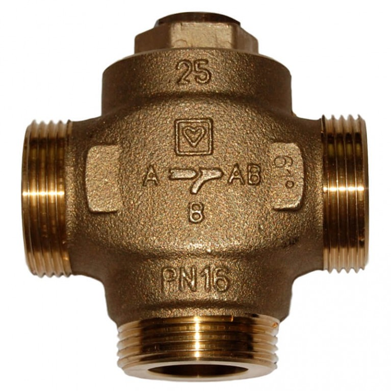 Купить Термосмесительный клапан HERZ Teplomix DN 25 1 1/4 НР у официального дилера Herz в Украине
